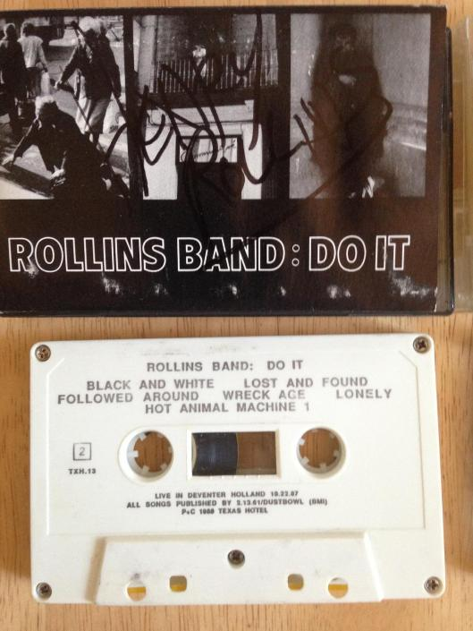 rollins band do it cassette 1