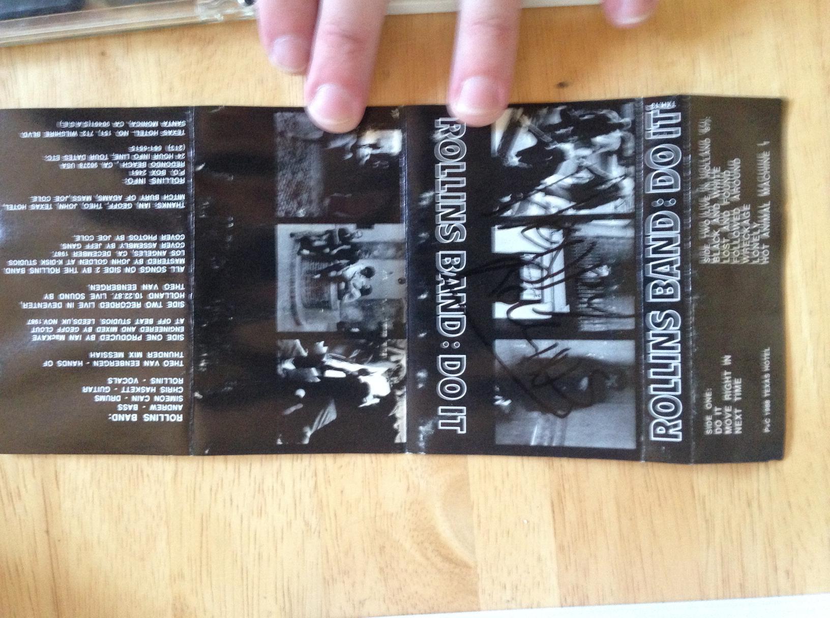 rollins band do it cassette 3