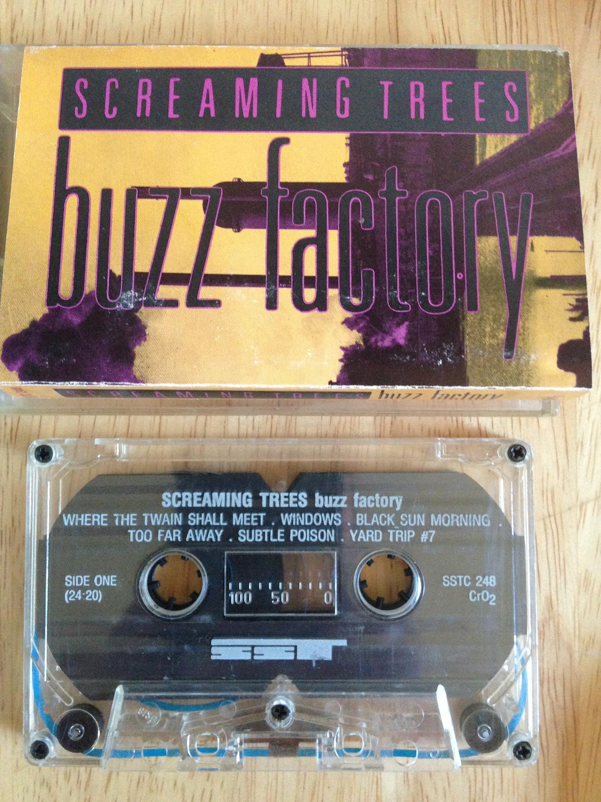 screaming trees buzz factory cassette 1
