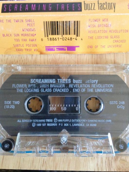 screaming trees buzz factory cassette 2