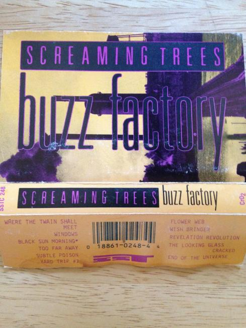 screaming trees buzz factory cassette 3