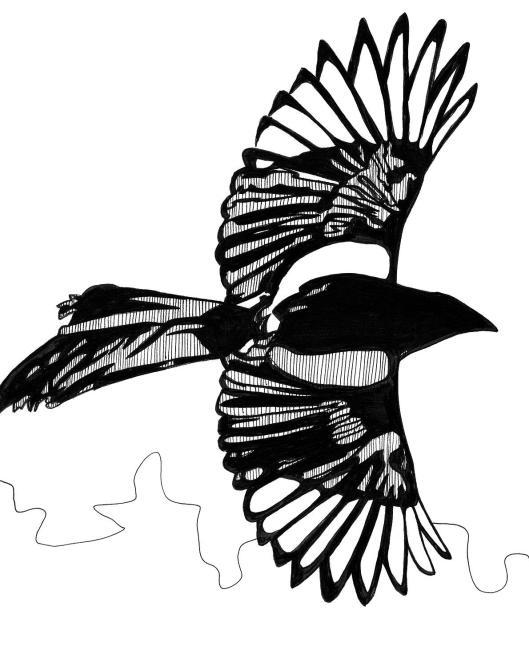 magpie inked 8x10 - Copy