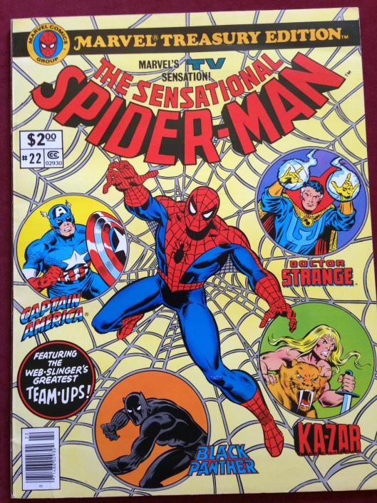marvel treasury 22 sensational spider-man (2)