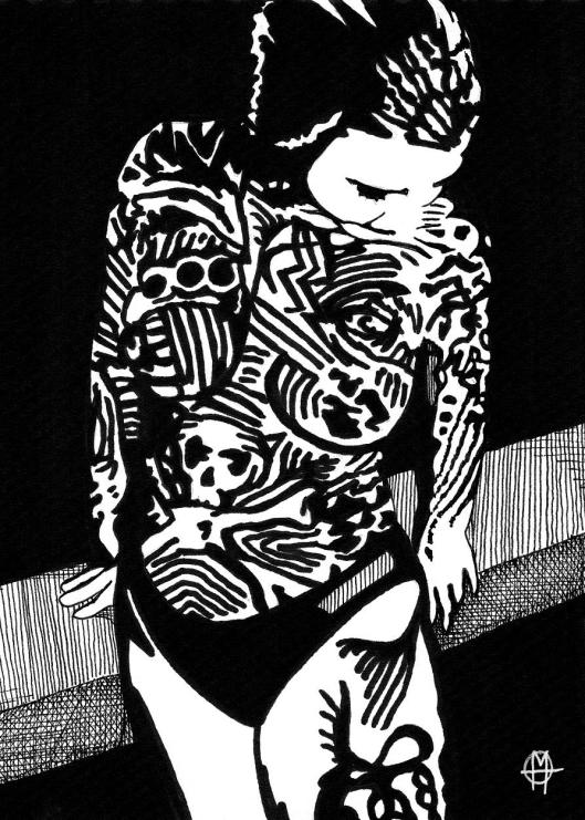 painted dancer 2 - Copy