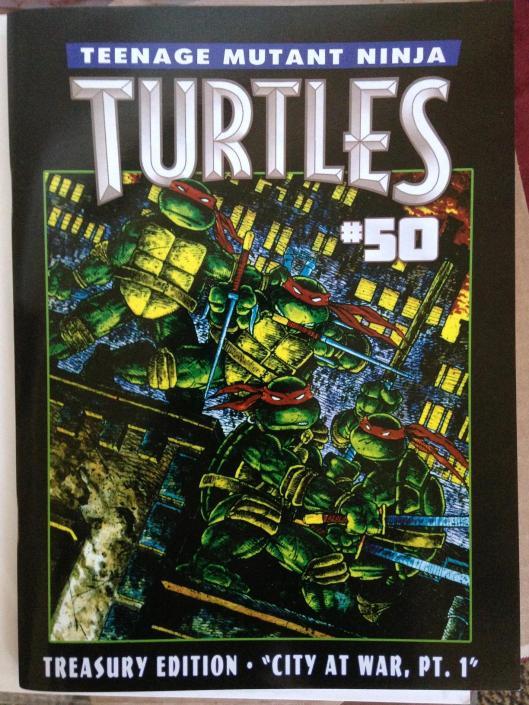 teenage mutant ninja turtles 50 treasury (2)