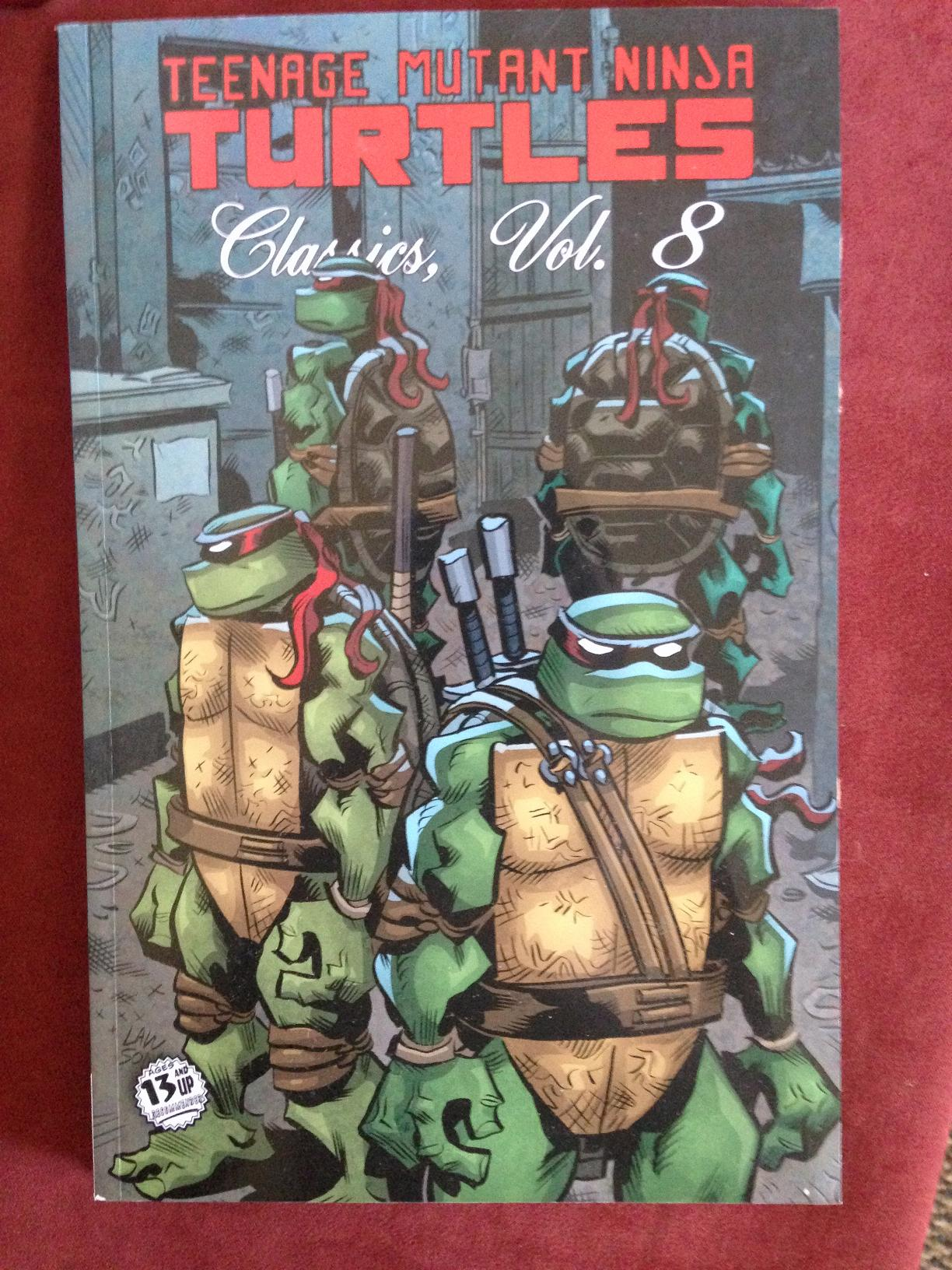 teenage mutant ninja turtles classics vol 8 (1)