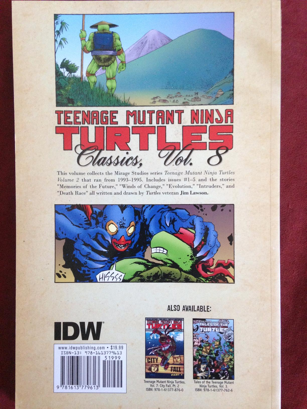 teenage mutant ninja turtles classics vol 8 (2)