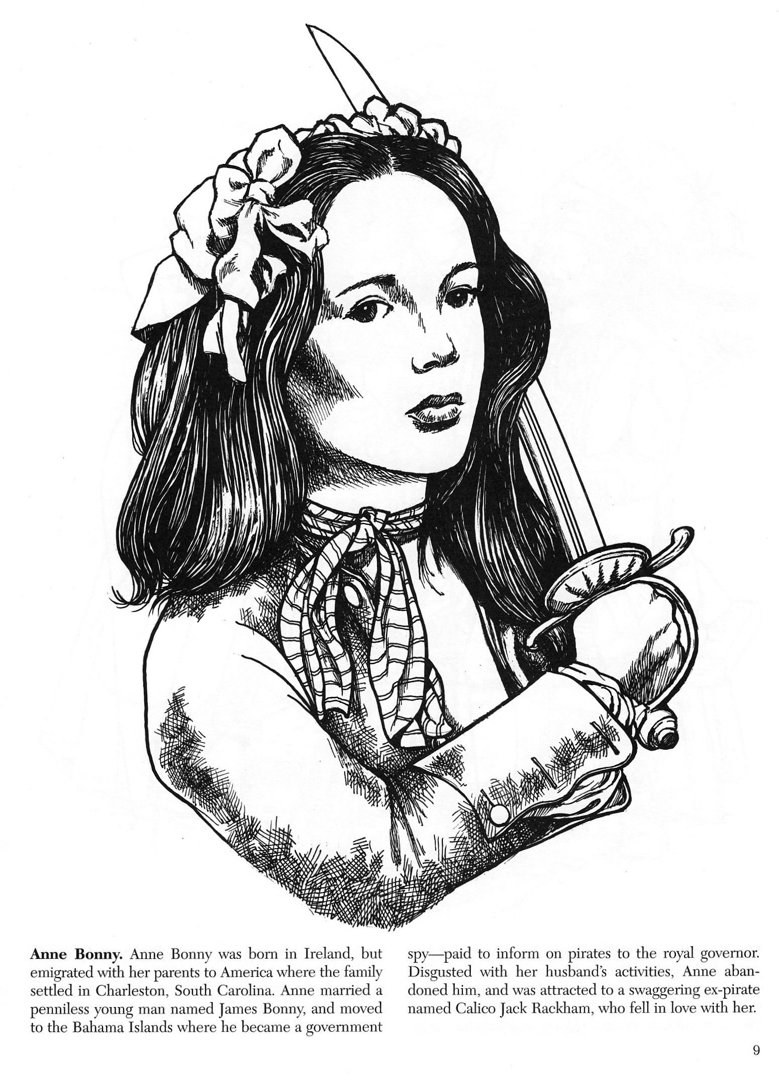 mary read anne bonny coloring book_0003