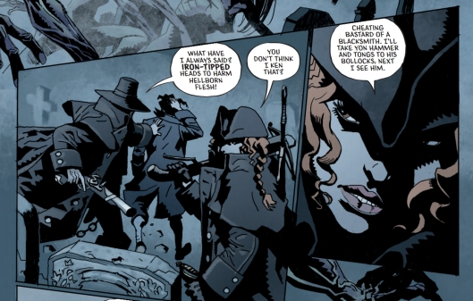 robbie burns witch hunter sample panels