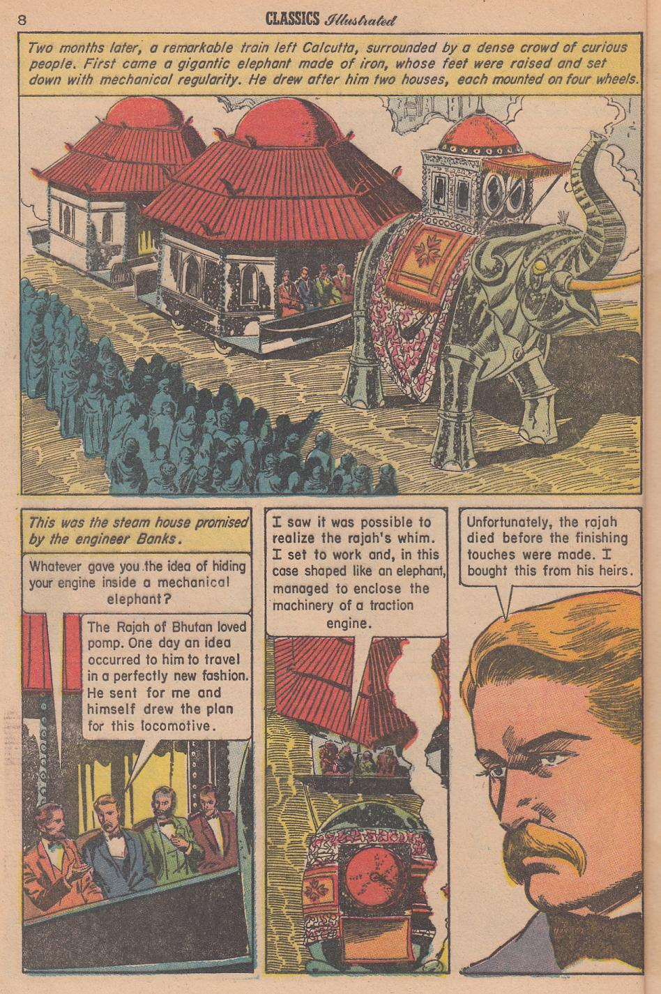 Tigers And Traitors Classics Illustrated 166 Mars Will