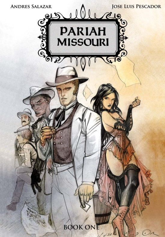 pariah missouri book one cover salazar pescador