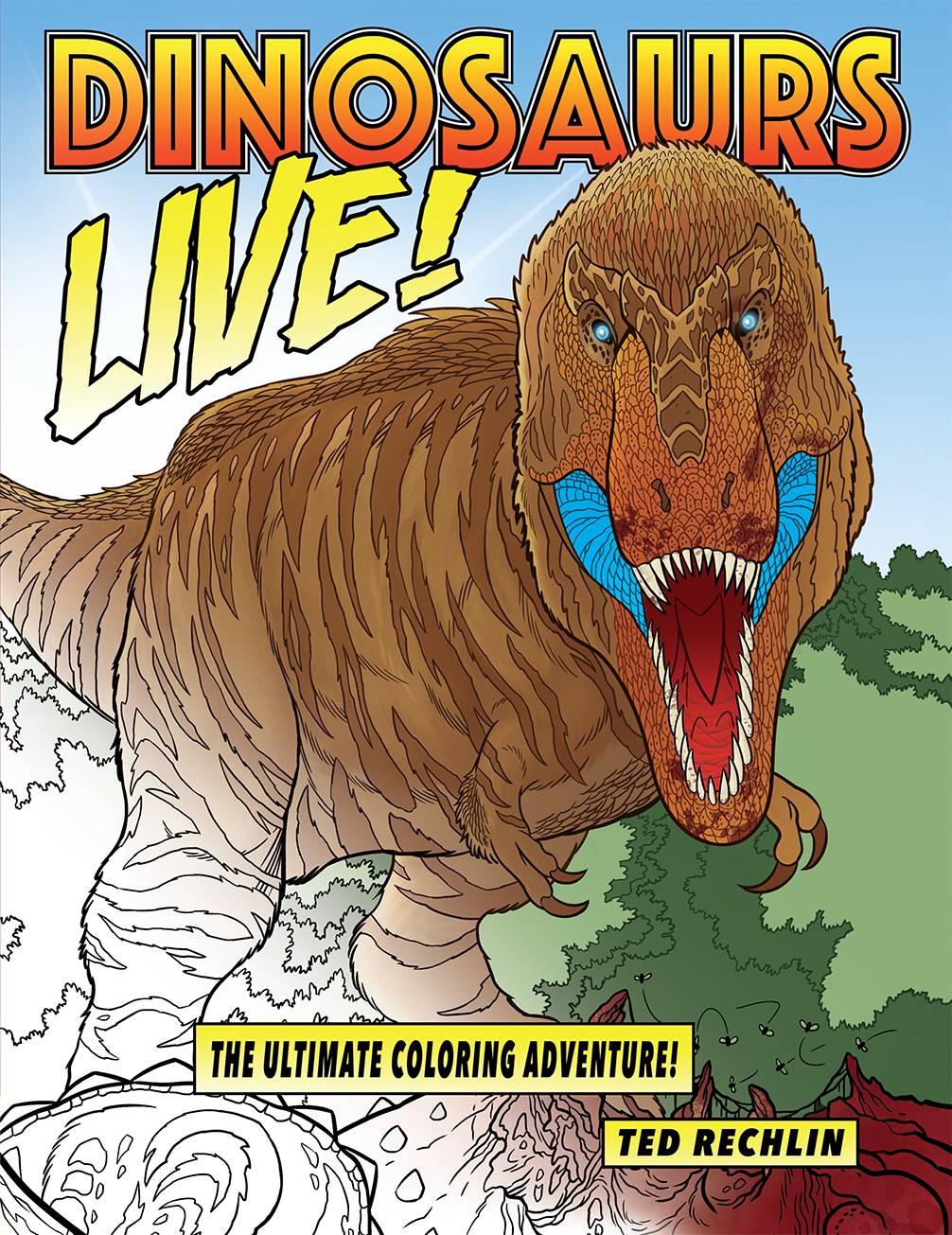 dinosaurs live rechlin cover.jpg