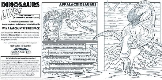 dinsoaurs live appalachiosaurus promo