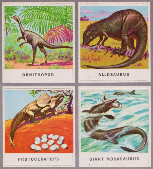 animals of the past stamps 005