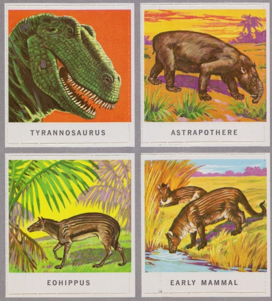 animals of the past stamps 006
