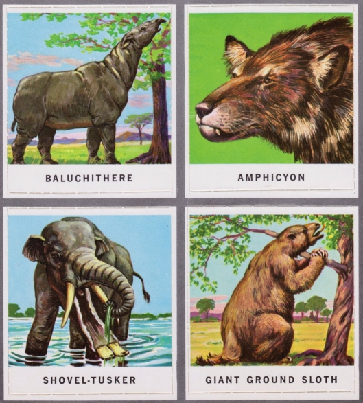 animals of the past stamps 008