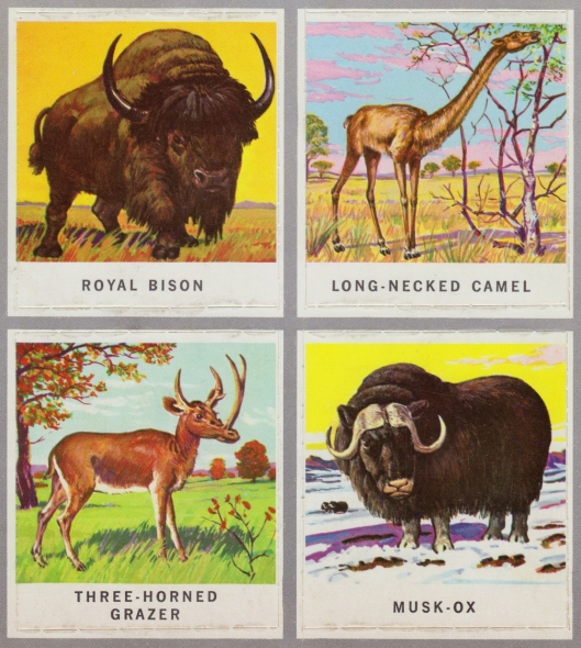 animals of the past stamps 010