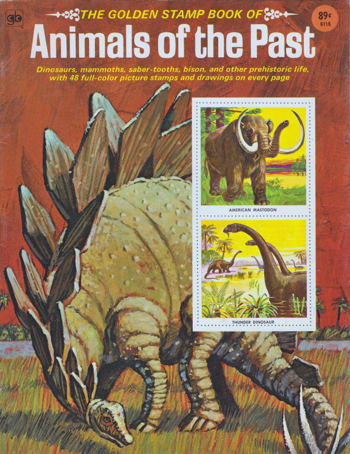 animals of the past stamps Book Cover