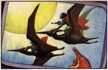 051a-jets rockets spacemen cards pteranodon