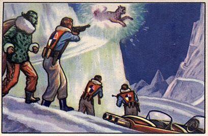 058a-jets rockets spacemen cards polar cat