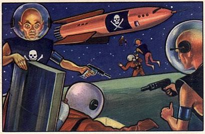 067a-jets rockets spacemen cards pirates