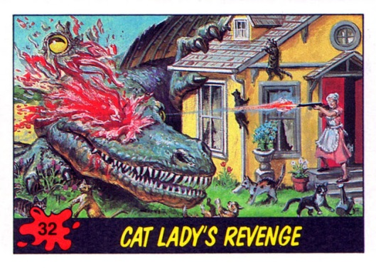 32 cat lady's revenge