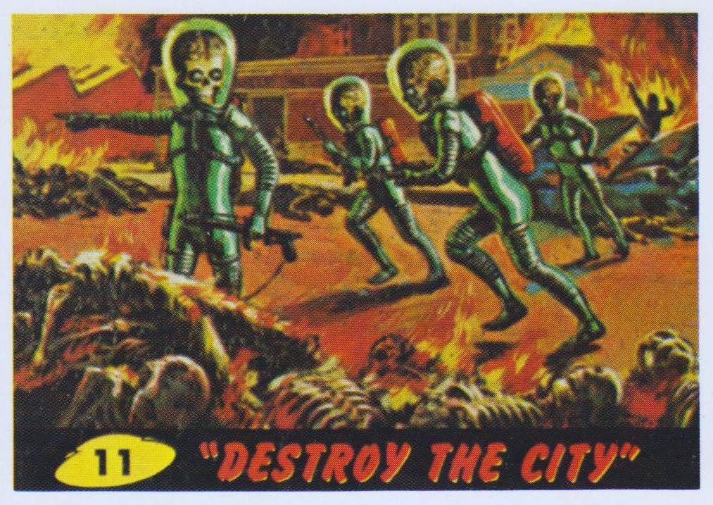 mars attacks cards 11 destroy the city