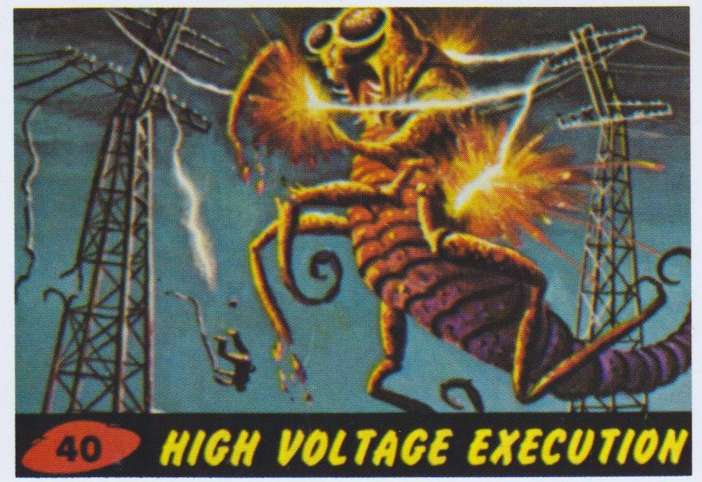 mars attacks cards 40 high voltage execution