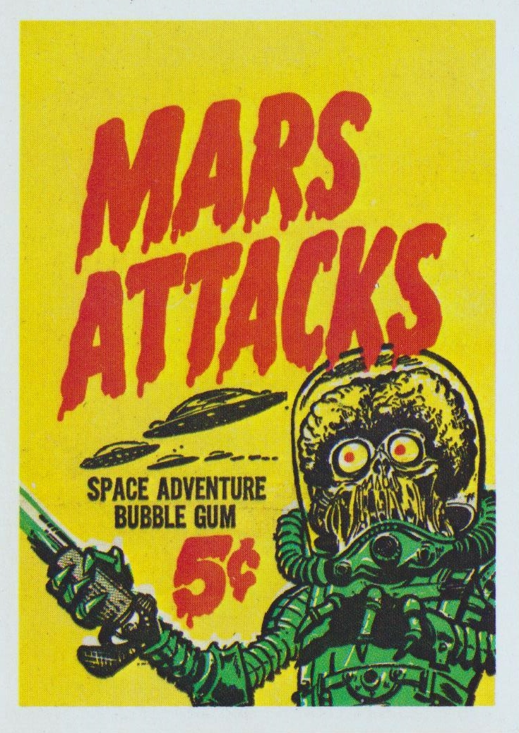 mars attacks cards - cover