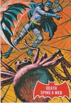 norman saunders batman card 1966