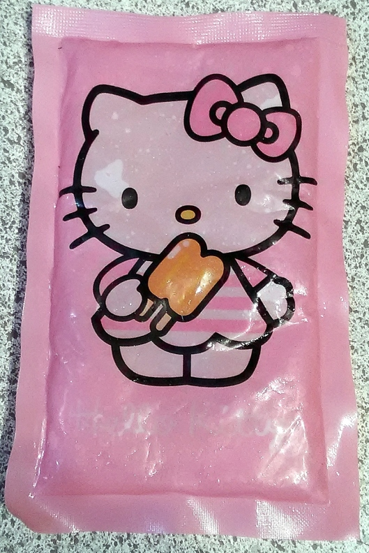 hello kitty ice pack pink